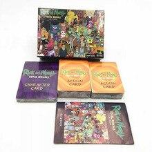 Рик и Морти всего рикколл карточная игра семья кооперативная вечерние игровая коллекция карт