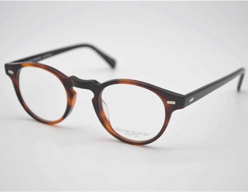 82813876859 Vintage optical glasses frame oliver peoples ov5186 eyeglasses Gregory peck  for women and men eyewear frames FREE SHIPPING