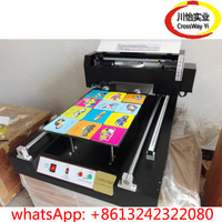 Best Resolution Acrylic Pen USB disk Printing machine with UV lamp drying
