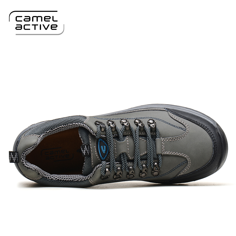 brand new c3f97 e6a86 US $57.6 28% OFF|Camel Active Men Waterproof Leather Antiskid Hiking Shoes  Men Outdoor Trail Camping Climbing Mountaineering Hunting Shoes-in Hiking  ...