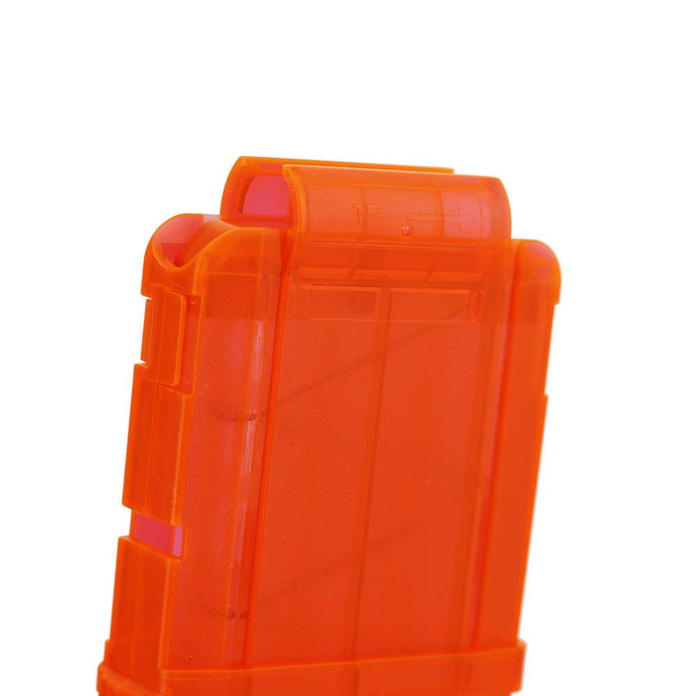 100PCS עבור נרף כדורים רך חלול חור ראש 7.2cm מילוי חצים צעצוע אקדח כדורים עבור נרף סדרת Blasters עם 15 רענן קליפ