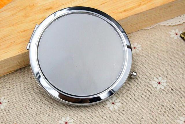 Spiegel Make Up : Kosmetische taschenspiegel make up blank taschenspiegel silber