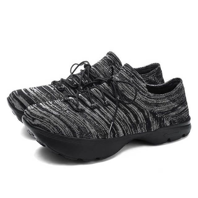 Women Upside Down Shoes Female Flying K Negative Heel Orthopedic Casual Socks Shoe Woman Fashion Sneaker Footwear Walking Shoe
