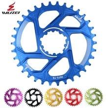 Wuzei горный велосипед звездочка цепной передачи узкая широкая цепь из колец цепь велосипедная Звездочка для ARAM GXP XX1 X9 модными принтами XO X01 шатун со звездочкой запчастей 32/34/36/38T