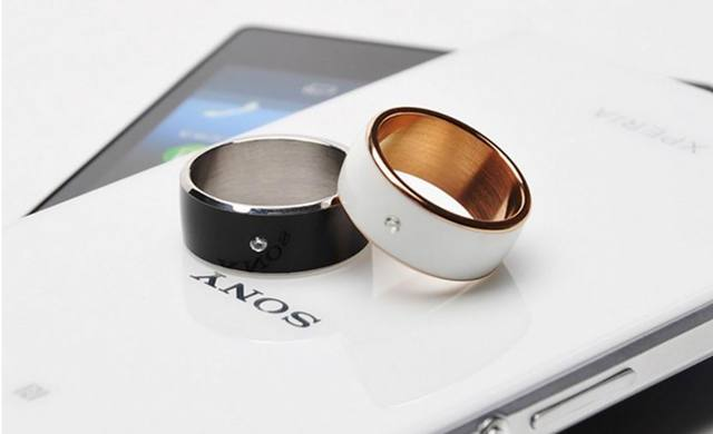 Black white Smart Rings Wear Jakcom new technology Magic jewelry Timer 2 For iphone Samsung HTC Sony LG IOS Android ios Windows
