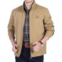 2018 New Jackets Spring Autumn Brand 100 Cotton Men S Jacket Men Jacket Coat High Quality