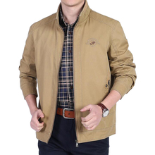 2019 new jackets Spring Autumn brand 100% cotton men's jacket Men Jacket Coat  high quality Casual Jackets Male Coats
