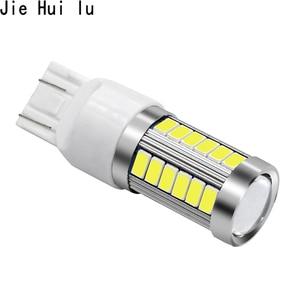 Image 4 - 1 pièce 1156 1157 7443 T20 W21W 7440 33 SMD 33SMD LED 5630 5730 Sauvegarde Réserve Brouillard Feu Stop Ampoule Lampe 12V BLANC rouge jaune