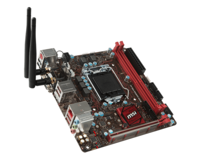 MSI B250I GAMING PRO AC Mini ITX with WIFI motherboard supports 7 generations of CPU