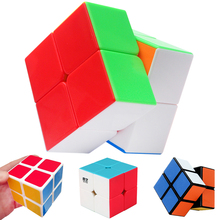 5CM Speed Pocket Magic Cube 2*2*2 on 2x2x2 QIYI ShengShou Two Layers Mini Puzzle Toys for Kids Professional Cubes