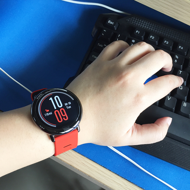 [G Version] Xiaomi HUAMI AMAZFIT Pace Sports Smart Watch Bluetooth 4.0 WiFi Dual Core 1.2GHz 512MB + 4GB GPS Heart Rate