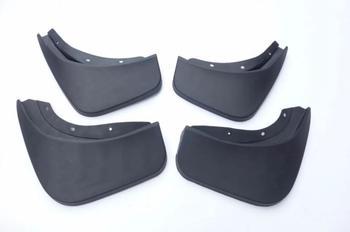 ل فولفو V90 4 قطع سيارة الطين رفرف سبلاش الحرس درابزين قطعة من نسيج سيارة اكسسوارات التصميم