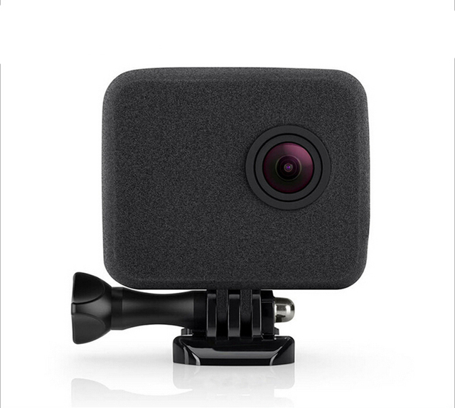 GoPro Camera WindSlayer Foam Windscreen fit for Hero 4. 3+,action camera accessories black Windshield