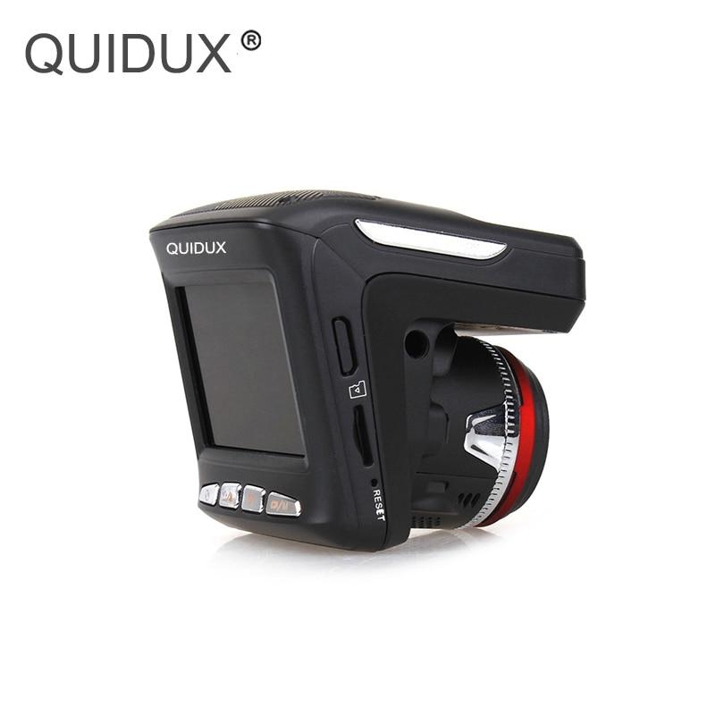QUIDUX russe voix 3 en 1 voiture DVR Anti Radar détecteur GPS tracker g-sensor détection de mouvement vitesse cam vision nocturne dash cam