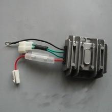 4 провода автоматический регулятор напряжения Выпрямитель 12 В AVR однофазный 178F 186F 186FA Генератор запасные части регулятор заряда