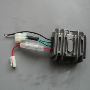 Image 1 - 4 חוטים מיישר 12 V וסת מתח אוטומטי AVR שלב אחד 178F 186F 186FA חלקי חילוף גנרטור רגולטור אחראי