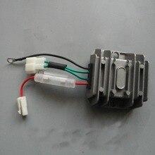 4 DRADEN Automatische Spanningsregelaar Gelijkrichter 12 V AVR Eenfase 178F 186F 186FA generator onderdelen Opladen Regulator