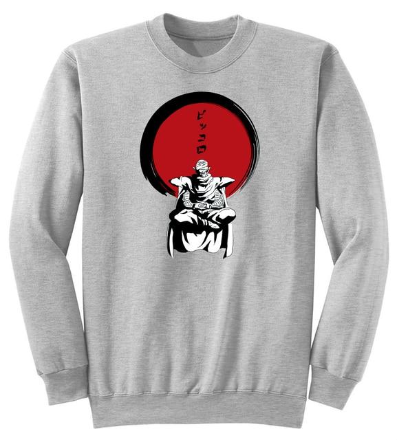 170f413fea Classic Anime Japanese Dargon Ball Piccolo Zen Tops Unisex Women Men Crewneck  Sweatshirt Fashion Clothing Jersey Sweats cmt
