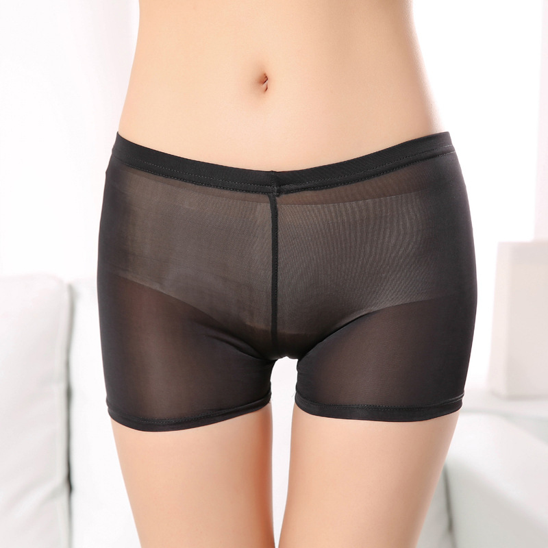 SP&CITY Ladies Soft Breathable Short Tights Women Briefs Seamless Safety Short Pant Summer Under Skirt Shorts Modal Shorts Boxer