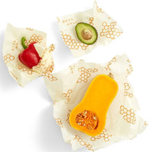 Eco Friendly Beeswax Sandwich Wrap Reusable Paper Food Package Plastic Free Beeswax Cotton Food Storage Wrap Washable Food Wrap(China)