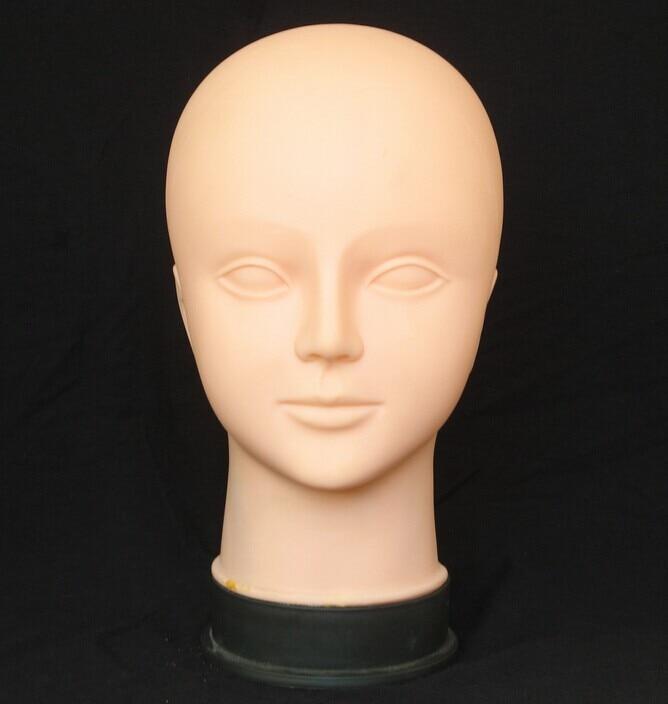 Livraison Gratuite Mannequin Manequin Mannequin Femme Mannequin Doux Tête Pour Faire Up Massage