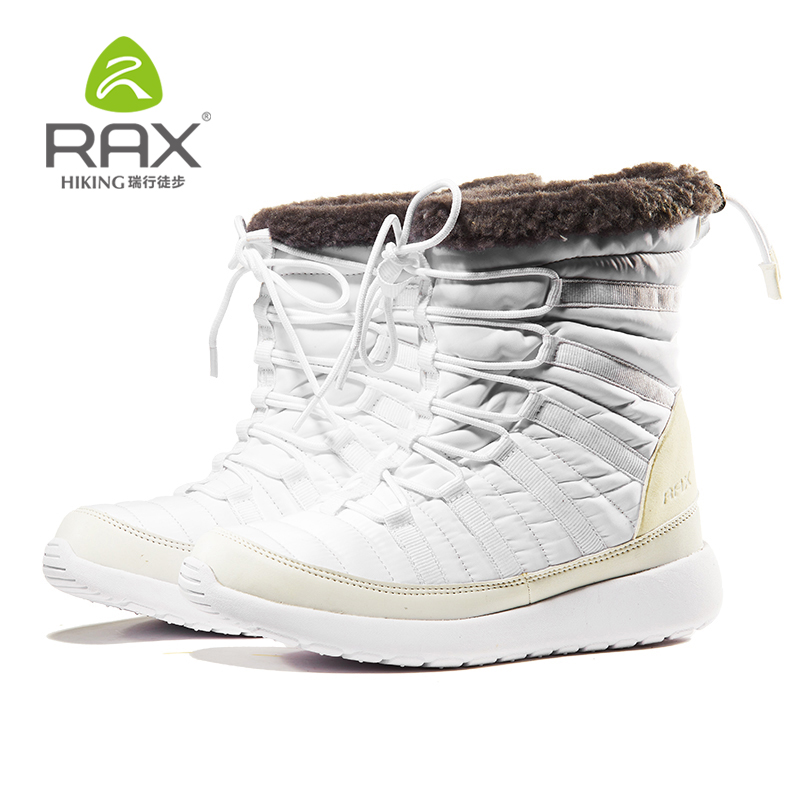 RAX 2019 Winter Snow Boots For Women Winter Hiking Shoes Women Breathable Outdoor Sneakers Warm Hiking