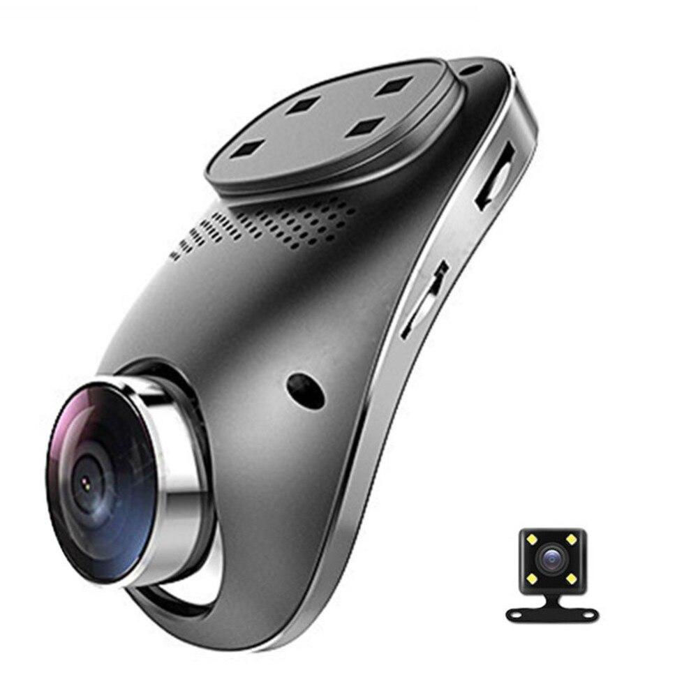 Nouveau Type enregistreur de conduite WIFI 4G universel 1080 P HD GPS caméra moniteur à distance ADAS Android 5.1 voiture DVR avec écran dissimulé