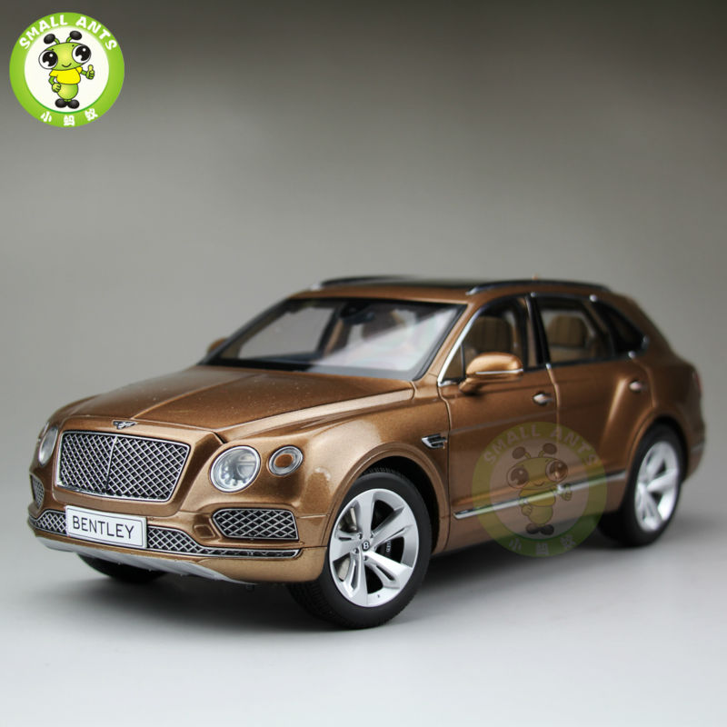 1:18 Scale Kyosho Bentley Bentayga Diecast SUV Car Model Bright Bronze 08921 provide high performance model car bearing sets kyosho triumph of free shipping