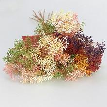 Flone Современные Простые Пластиковые цветы для украшения дома декоративные цветы искусственные растения мягкие резиновые фрукты Искусственные цветы зеленые