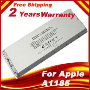 """Image 1 - Özel fiyat pil için Macbook 13 """"MAC A1185 A1181 MA566FE/A MB881LL/A beyaz 55Wh"""