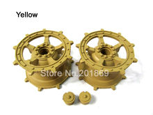 Henglong 3888-017 3888A-011German Kingtiger tank plastic sprockets/driving wheels of 1:16 1/16 rc tank, plastic parts spare