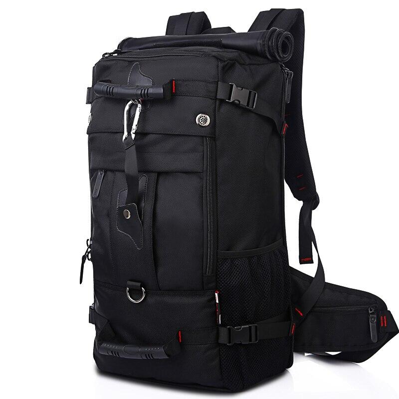 JIULIN hommes sac à dos sac de voyage grande capacité polyvalent utilitaire alpinisme multifonctionnel étanche sac à dos sac à bagages