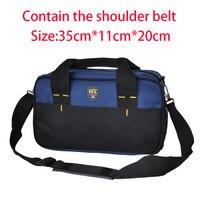 FASITE Multifunction Canvas Bag Tool Handbag Storage Bag Waterproof Electrician Bag Waist Belt Free Shipping