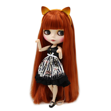 Factory Neo Blythe Doll Matte Face Jointed Body Full Kitty Combo Set 30 cm