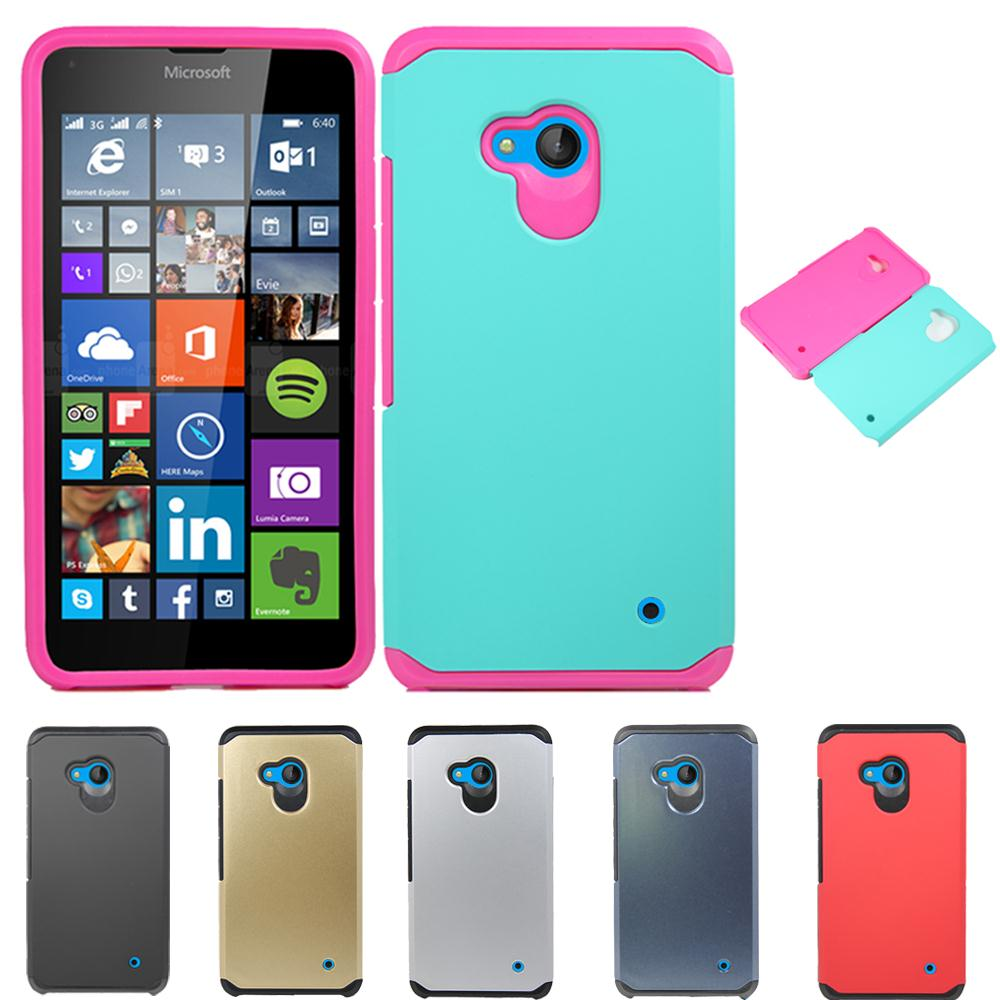 separation shoes 8a9c0 367db US $2.47 25% OFF|Durable Hybrid Shockproof Slim Armor Case Hard Impact  Protective Case Skin Cover For Nokia MicroSoft Lumia 640/XL/950/550/650-in  ...