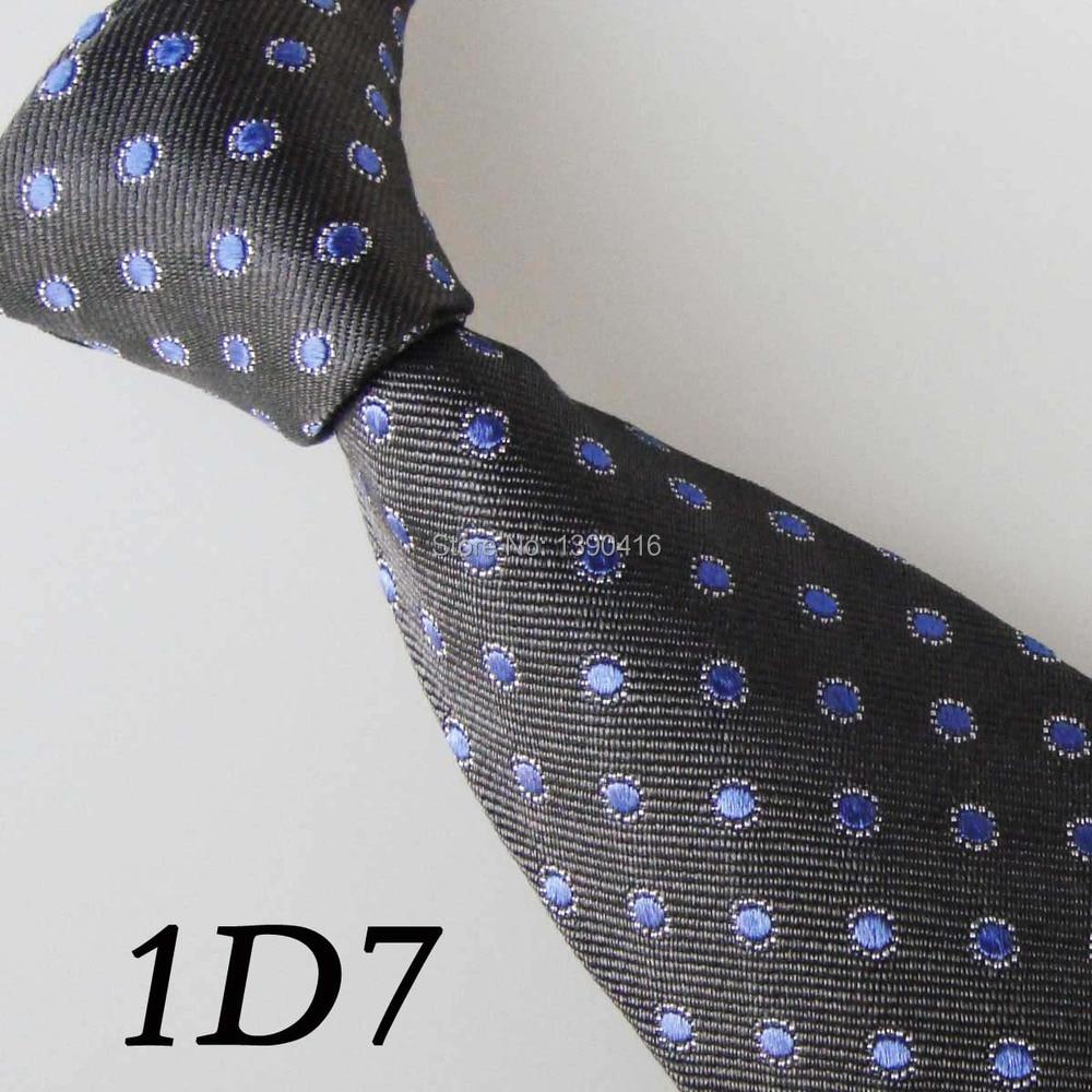 2018 Latest Version Mens Ties Border Black/Blue Dot Neckties Gravata Skinny Pretty Ties For Men Groom Bestman Ties&Men Neckties