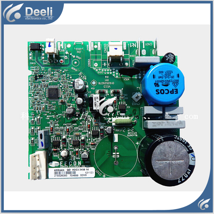 95% new for Haier refrigerator bcd-559wyj zu z bcd-539ws nh frequency conversion control board computer driver board 95% new for haier refrigerator computer board circuit board bcd 219bsv 229bsv 0064000915 driver board good working