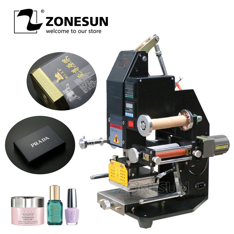 ZONESUN Pneumatic Automatic hot foil Stamping Machine,leather LOGO Creasing machine,LOGO stamper,Hot words machine цены