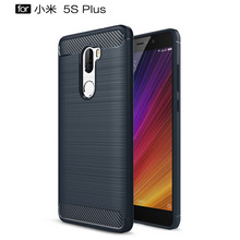 Купить с кэшбэком Fitted Cases For Xiaomi Mi 5S Plus New Anti-knock Soft Silicone TPU Back Cover Mobile Phone Case