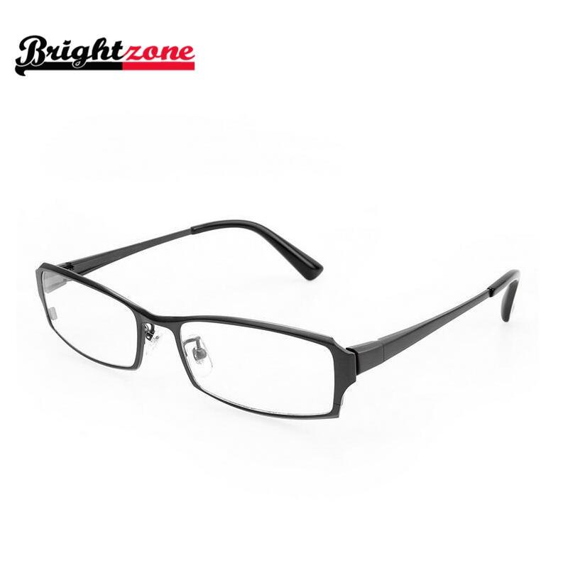 2019 High Grade Business Successfull Man Full Rim Glasses 100 Pure Titanium Eyeglasses Frames Prescription Myopia