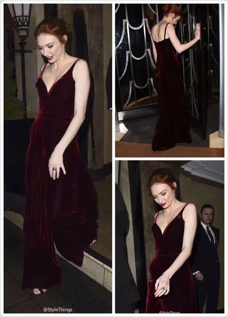 ec7928913e32 2017 HOT SUMMER NEW STYLE WINE RED DEEP V WIDE LEG ROMPERS SEXY CELEBRITY WOMEN  JUMPSUIT NIGHT CLUB
