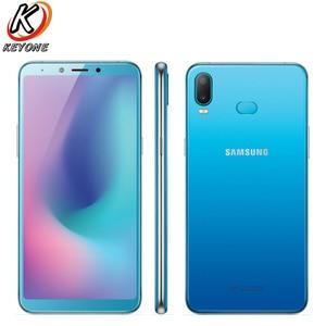 "Image 4 - Yeni Samsung Galaxy A6s SM G6200 cep telefonu 6.0 ""6GB RAM 64GB/128GB ROM Snapdragon 660 octa çekirdek çift arka kamera Android telefon"