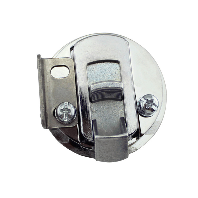 Image 5 - Marine Boat Zinc Alloy Deck Lock Press Type Round Cabinet Door Lock Boat Yacht Accessories-in Marine Hardware from Automobiles & Motorcycles