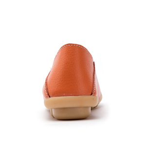 Image 3 - FEVRAL Spring Summer Woman Split Leather Casual Hollow Shoes Fashion Breathable Comfort Woman Moccasins Slip on Big Size 35~44