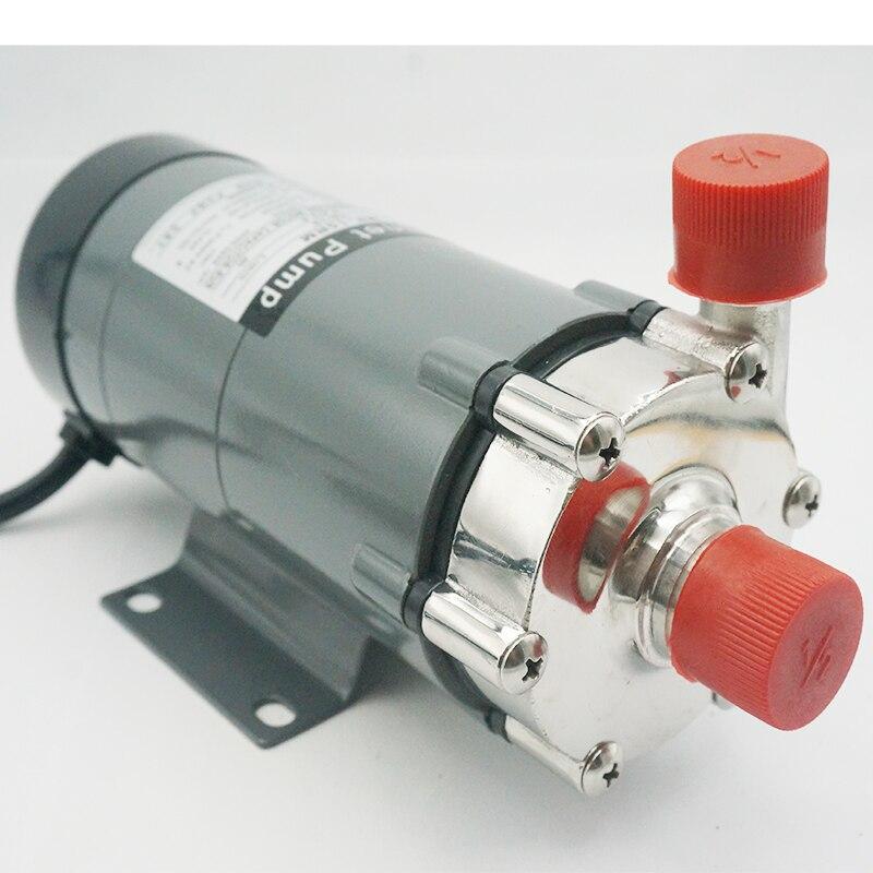 Pompe magnétique MP-30RM 304 acier inoxydable tête Homebrew bière et vin pompe d'entraînement haute température Resis NPT 3/4