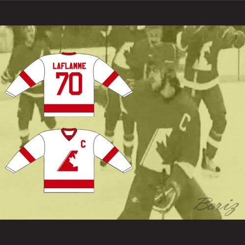 Custom XS 5XL Xavier LaFlamme 70 Montreal Corsairs Hockey Jersey Goon Movie  Free Shipping-in Hockey Jerseys from Sports   Entertainment on  Aliexpress.com ... dc2a057e462