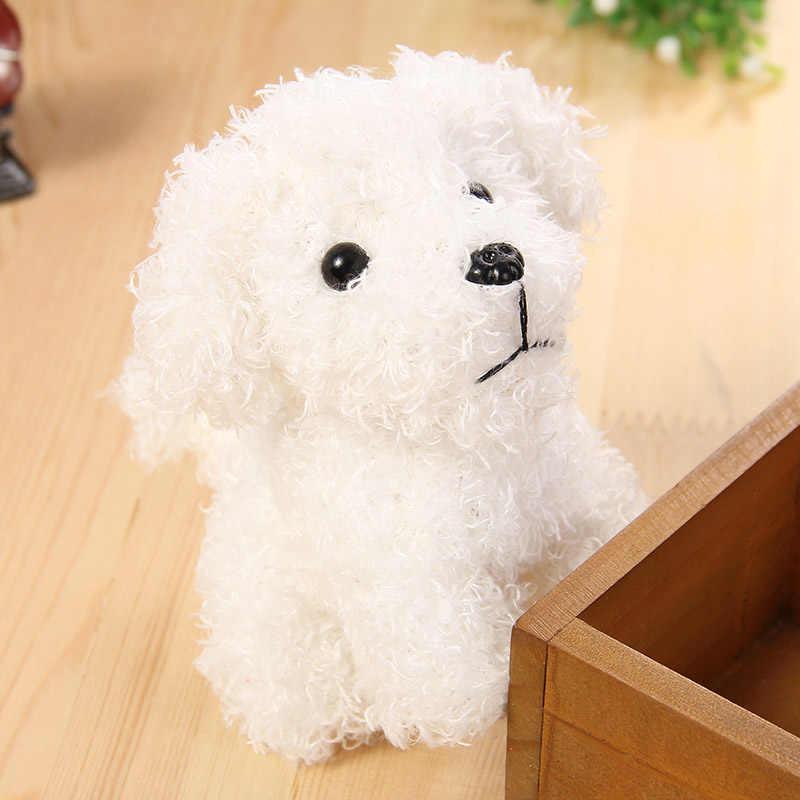 10 см милая собака плюшевые игрушки, брелок чучела животных Дети Мягкие игрушки Девочки Мальчики сумка автомобиль подвеска брелок подарок