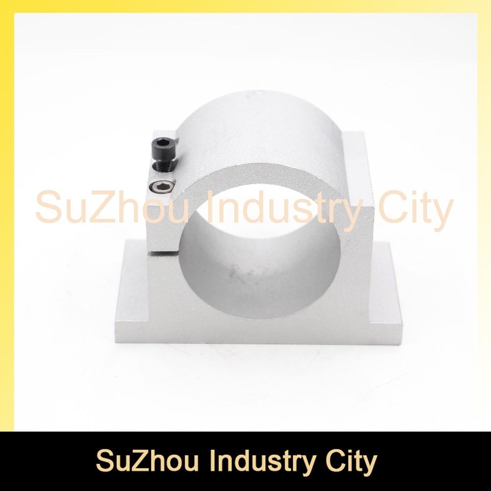 CNC Engraving Milling Machine Spindle bracket 80mm Diameter Cast Aluminium Bracket 80mm