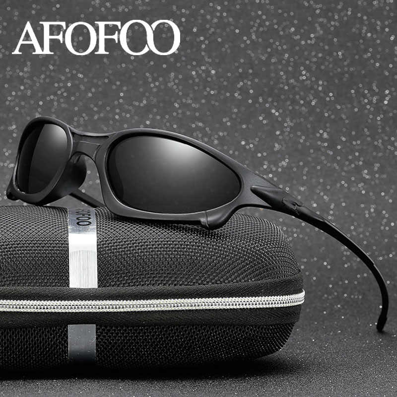 abd40e170 AFOFOO marca gafas de sol polarizadas conducción de los hombres gafas de  sol gafas de visión