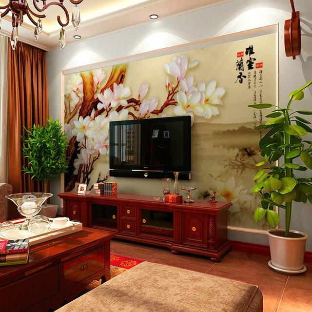 aliexpress : buy tv background wallpaper wallpaper murals and